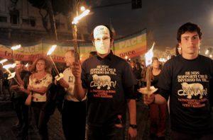 ITALY-GAY-DEMONSTRATION