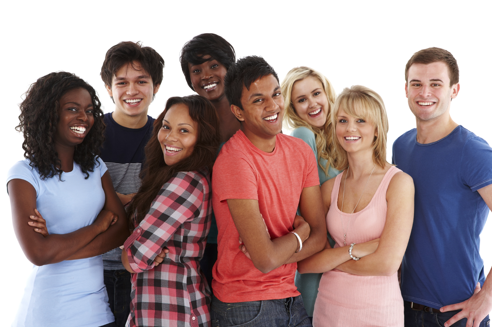 diverse group of teenagers voice of the voiceless