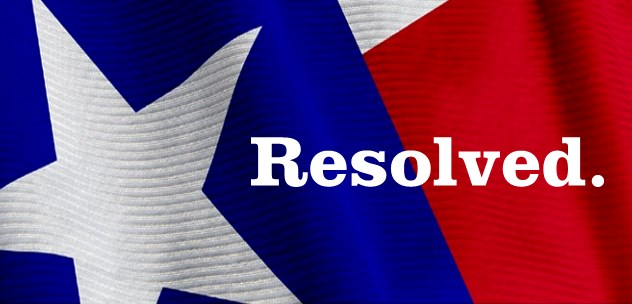 Texas Resolution